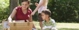 Piquenique na Semana das Crianças