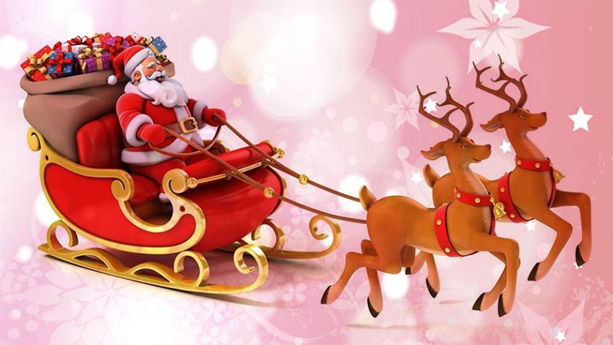A Rena Mais Famosa Do Papai Noel papai noel - de onde veio? 🎄 - dani lessa